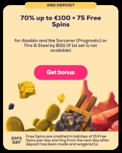 Bonus tweede storting