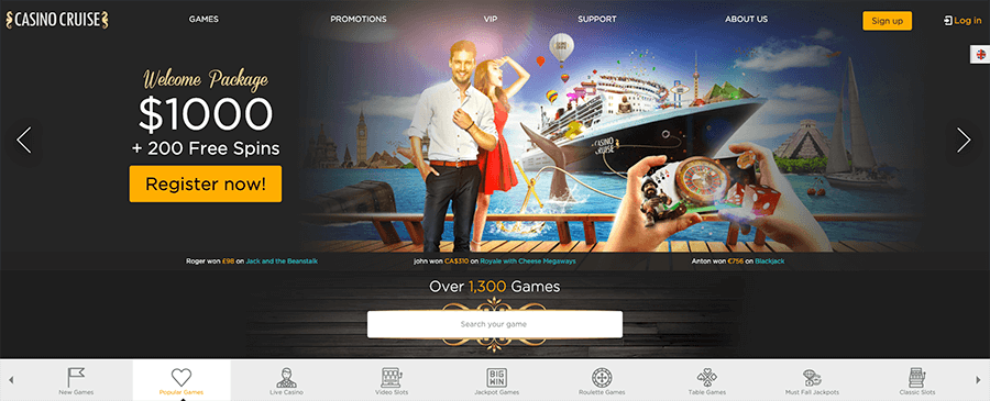 Casinocruise review