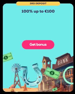 Geld storten bonus