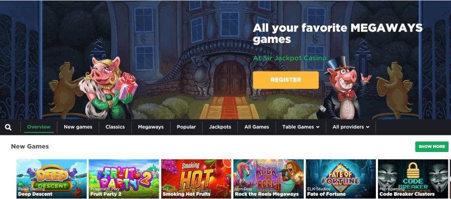 Kies uit verschillende spellen