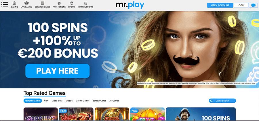 Mrplay casino review