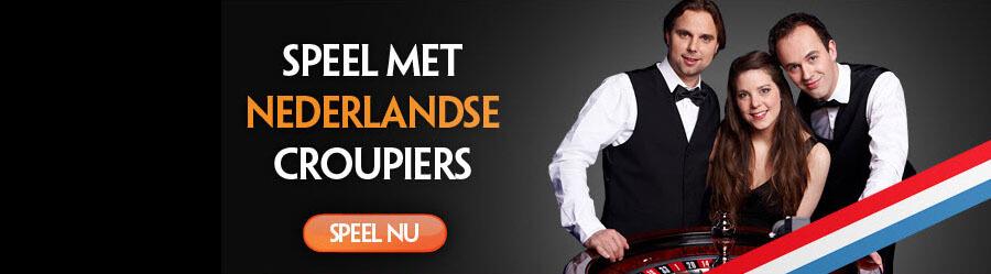 Nederlandse croupiers live