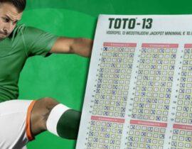 36 spelers winnen de Toto jackpot vorige week!