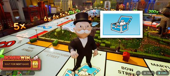 Monopoly spelshow