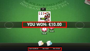 Win online blackjack
