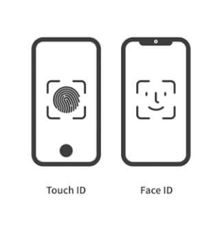betaling bevestigen touch id